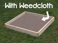 SFG Box w/ Weedcloth