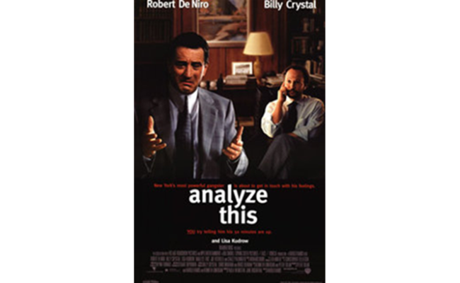 Analyze This, Part IV